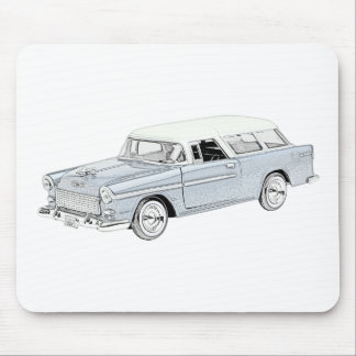 1955 Chevy Nomad Mousepads