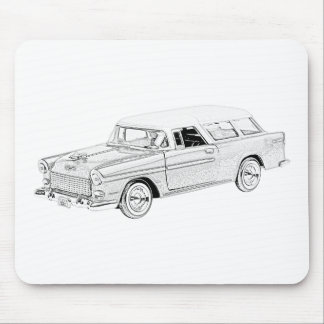 1955 Chevy Nomad Mousepad