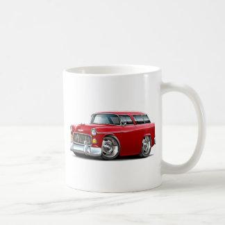 1955 Chevy Nomad Red Car Coffee Mug