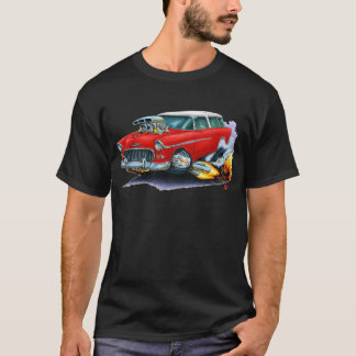 1955 Chevy Nomad Red Car T-Shirt
