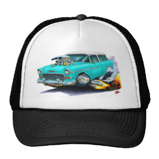 1955 Chevy Nomad Turquoise Car Hats