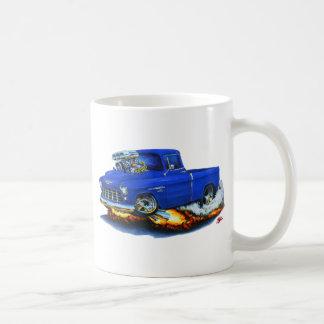 1955 Chevy Pickup Blue Truck Coffee Mug
