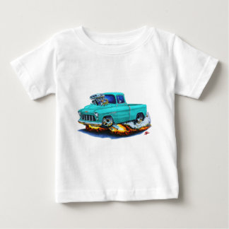 1955 Chevy Pickup Turquoise Truck Baby T-Shirt