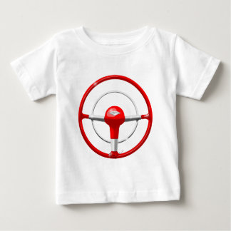 1955 Chevy Red Steering Wheel Baby T-Shirt