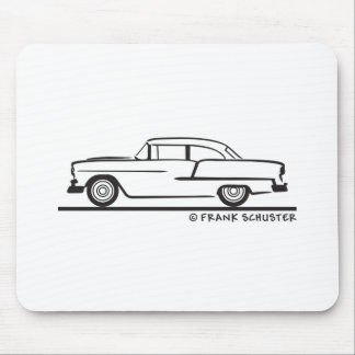 1955 Chevy Sedan  Two Door Post Mouse Pad