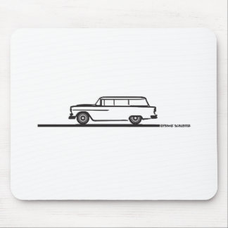 1955 Chevy Station Wagon Mouse Pads
