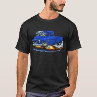 1955 Chevy Stepside Pickup Blue Truck T-Shirt