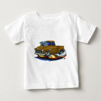 1955 Chevy Stepside Pickup Brown Truck Tee Shirt