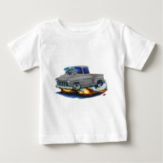 1955 Chevy Stepside Pickup Grey Truck T-shirt