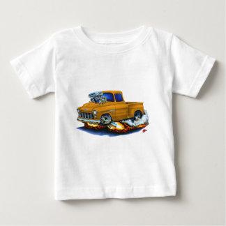 1955 Chevy Stepside Pickup Orange Truck T-shirt