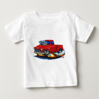 1955 Chevy Stepside Pickup Red Truck Shirt