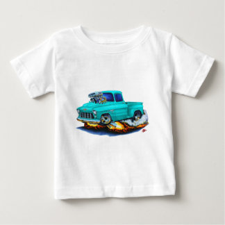 1955 Chevy Stepside Pickup Turquoise Truck Baby T-Shirt
