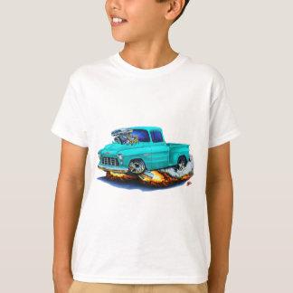 1955 Chevy Stepside Pickup Turquoise Truck T-Shirt