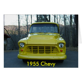 1955 Chevy Truck Card