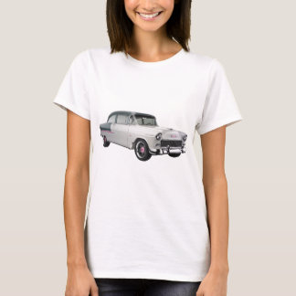 1955 chevy with pink trim T-Shirt
