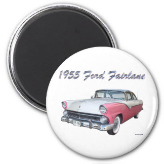 1955 FORD 2 2 INCH ROUND MAGNET