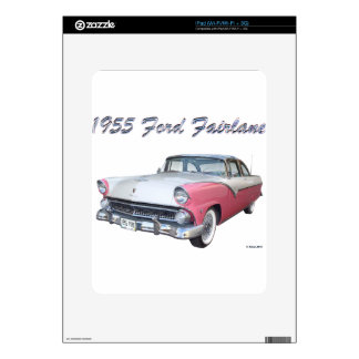 1955 FORD 2 DECALS FOR iPad