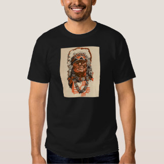 1955 Indian chief from Billy the Kid (UK) comics Tee Shirt