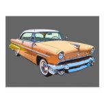 1955 Lincoln Capri Luxury Car Post Cards