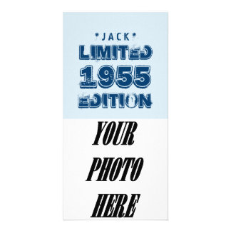 1955 or Any Year Birthday Limited Edition 60th V4Z Photo Card