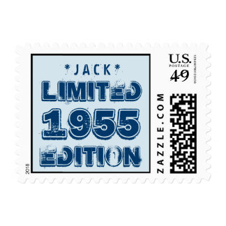 1955 or Any Year Birthday Limited Edition 60th V4Z Postage Stamps