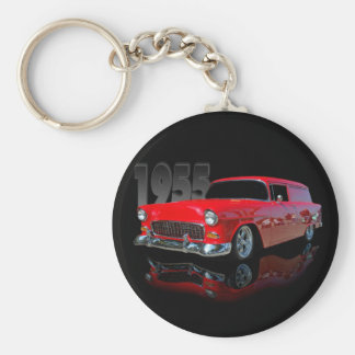 1955 panel wagon keychain