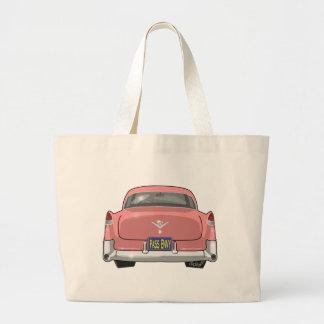 1955 Pink Cadillac Jumbo Tote Bag