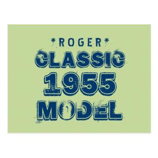 1955 verdes MODELO CLÁSICOS J60 del 60.o Tarjeta Postal