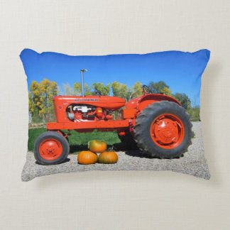 1955 WD45 Allis Chalmers Tractor- Autumn Accent Pillow