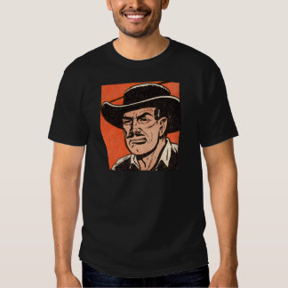 1955 Western bad guy from Billy the Kid comics Tee Shirt