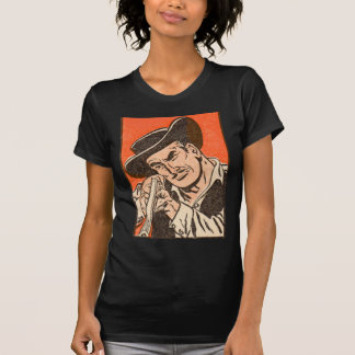 1955 Western bad guy with rifle from Billy the Kid Tee Shirts