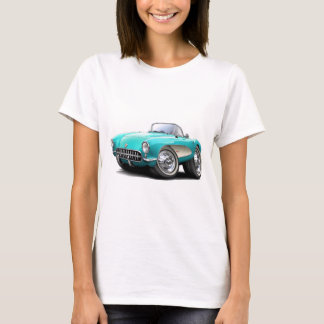 1956-57 Corvette Aqua Car T-Shirt