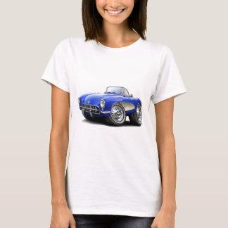 1956-57 Corvette Blue Car T-Shirt