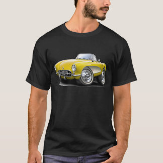 1956-57 Corvette Yellow Car T-Shirt