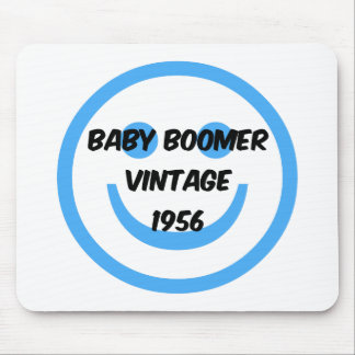 1956 baby boomer mouse pad