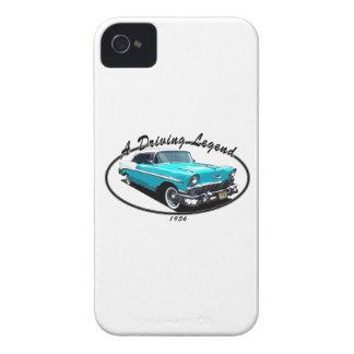 1956 BEL AIR BLUE iPhone 4 CASE