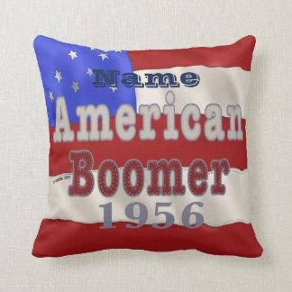 1956 Birthday Throw Pillow