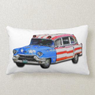 1956 Cadillac Ambulance Pillow