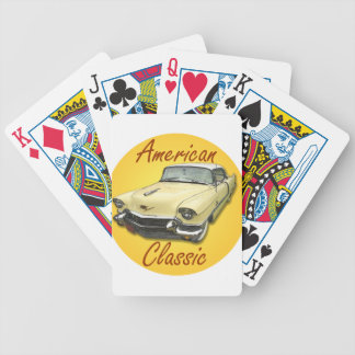 1956 Cadillac DeVille Bicycle Playing Cards