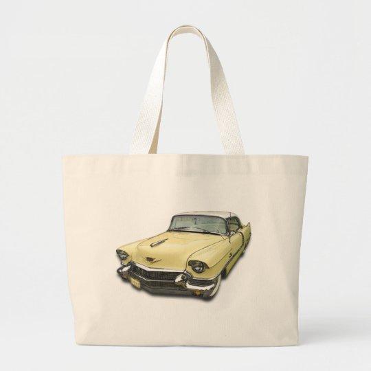 1956 Cadillac DeVille Large Tote Bag