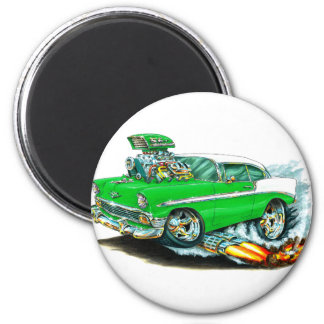 1956 Chevy 150-210 Green Car Magnet