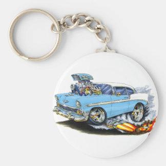 1956 Chevy 150-210 Lt Blue Car Keychains