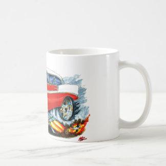 1956 Chevy 150-210 Red Car Coffee Mug