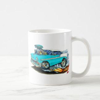 1956 Chevy 150-210 Turquoise Car Coffee Mug
