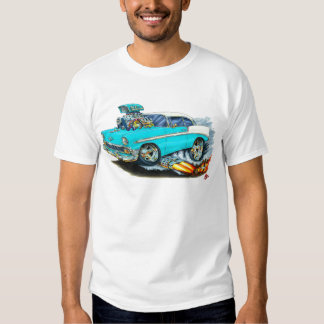 1956 Chevy 150-210 Turquoise Car T Shirt
