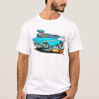 1956 Chevy 150-210 Turquoise Car T-Shirt