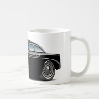 1956 Chevy Belair Black Car Coffee Mug