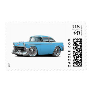 1956 Chevy Belair Lt Blue Car Postage