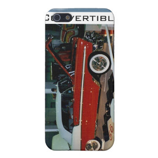 """1956 Chevy"" Convertible © 2010 S.J. iPhone SE/5/5s Cover"
