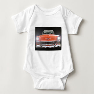 """1956 CHEVY """"LIGHTS ON"""" INFANT CREEPER"""